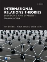 Cover image for International relations theories : discipline and diversity