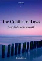 Cover image for The conflict of laws