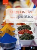 Cover image for Comparative politics