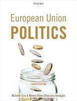 Cover image for European Union politics