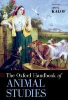 Cover image for The Oxford handbook of animal studies