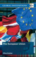 Cover image for The European Union