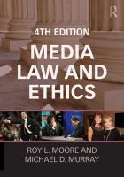 Cover image for Media law and ethics