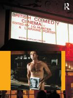 Cover image for British comedy cinema