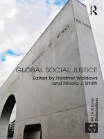 Cover image for Global social justice