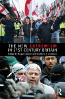 Cover image for The new extremism in 21st century Britain