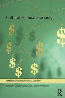 Cover image for Cultural political economy