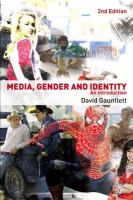 Cover image for Media, gender and identity an introduction
