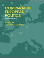 Cover image for Comparative European politics