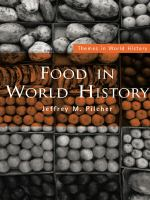 Cover image for Food in world history