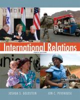 Cover image for International relations