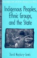 Cover image for Indigenous peoples, ethnic groups, and the state