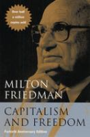 Cover image for Capitalism and freedom