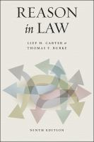 Cover image for Reason in law