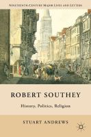 Cover image for Robert Southey : history, politics, religion