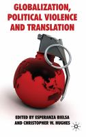 Cover image for Globalization, Political Violence and Translation