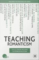 Cover image for Teaching Romanticism