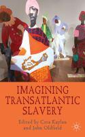 Cover image for Imagining Transatlantic Slavery