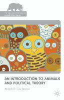 Cover image for An Introduction to Animals and Political Theory