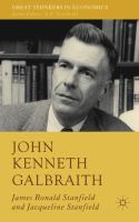 Cover image for John Kenneth Galbraith