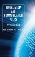 Cover image for Global Media and Communication Policy