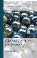 Cover image for Global political philosophy