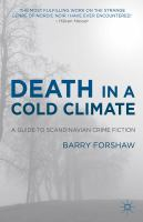 Cover image for Death in a Cold Climate A Guide to Scandinavian Crime Fiction