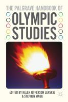 Cover image for The Palgrave Handbook of Olympic Studies