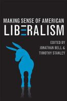Cover image for Making sense of American liberalism
