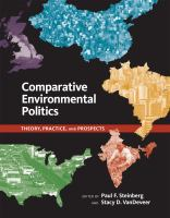 Cover image for Comparative environmental politics