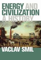 Cover image for Energy and Civilization A History