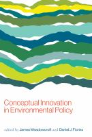 Cover image for Conceptual Innovation in Environmental Policy