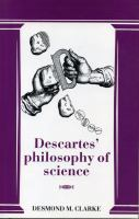 Cover image for Descartes' philosophy of science.
