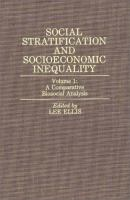Cover image for Social stratification and socioeconomic inequality