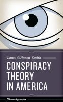 Cover image for Conspiracy theory in America