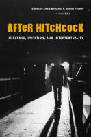Cover image for After Hitchcock influence, imitation, and intertextuality
