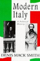 Cover image for Modern Italy: a political history.