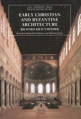 Cover image for Early Christian and Byzantine architecture