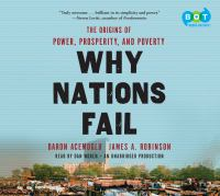 Cover image for Why nations fail the origins of power, prosperity, and poverty