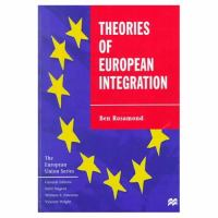 Cover image for Theories of European integration