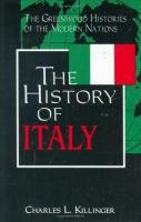 Cover image for The history of Italy
