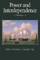 Cover image for Power and interdependence