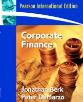 Cover image for Corporate finance