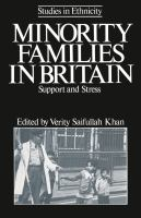 Cover image for Minority families in Britain : support and stress