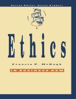 Cover image for Business ethics