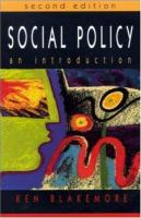 Cover image for Social policy : an introduction.
