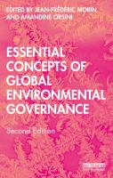 Cover image for Essential concepts of global environmental governance