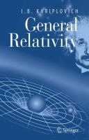Cover image for General Relativity
