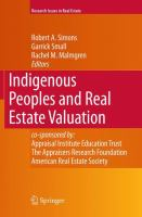 Cover image for Indigenous Peoples and Real Estate Valuation