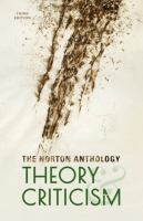 Cover image for The Norton anthology of theory and criticism